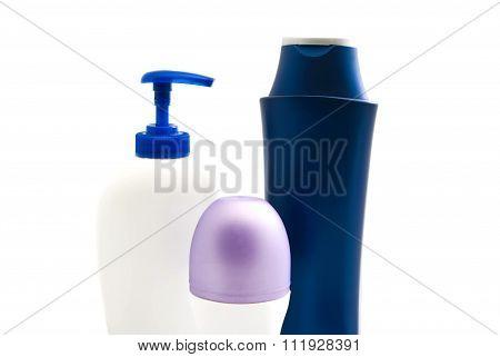 Shower Gel, Shampoo And Deodorant
