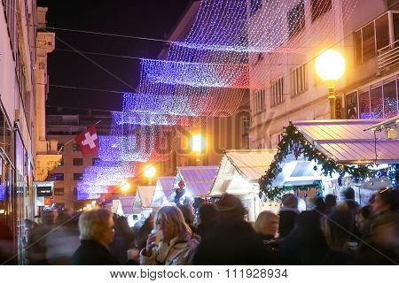 Christmas Advent In Zagreb