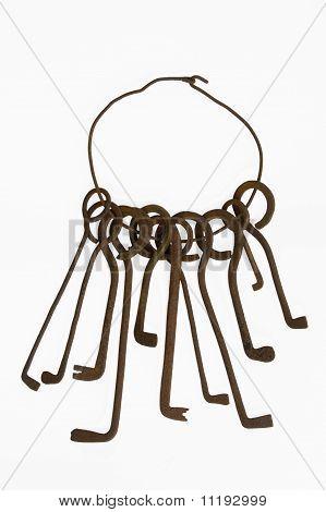 Conjunto de um chaves falsas