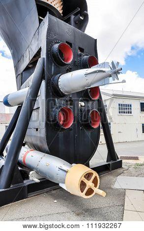 Submarine Bow with Torpedo Tubes