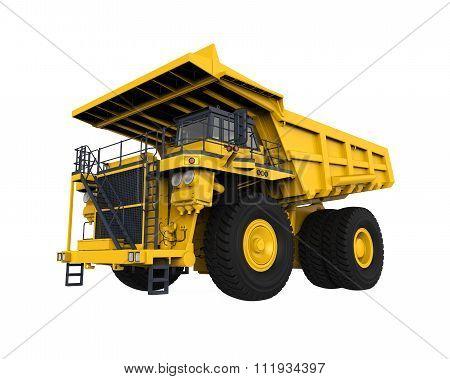 Yellow Mining Truck