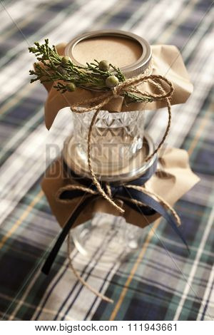 Empty Mason Jars for Holiday Gift Giving