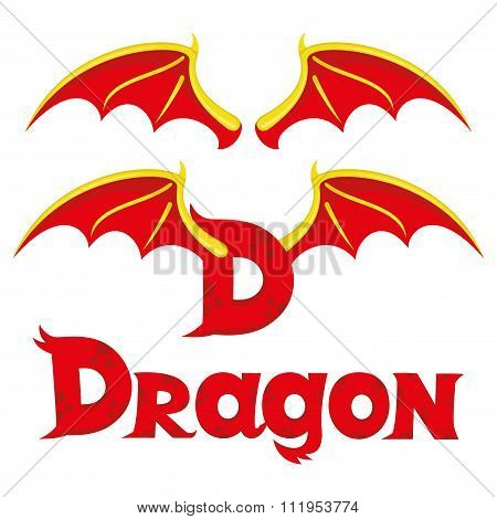 The wings of a dragon