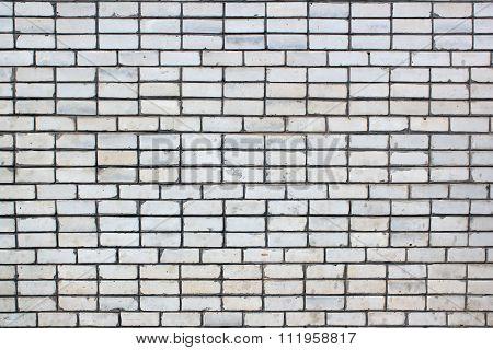 White Silicate Brick Wall