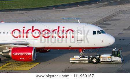 Air Berlin Aurbus A320