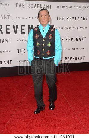 LOS ANGELES - DEC 16:  Duane Howard at the The Revenant Los Angeles Premiere at the TCL Chinese Theater on December 16, 2015 in Los Angeles, CA