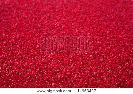 Red Granular Texture
