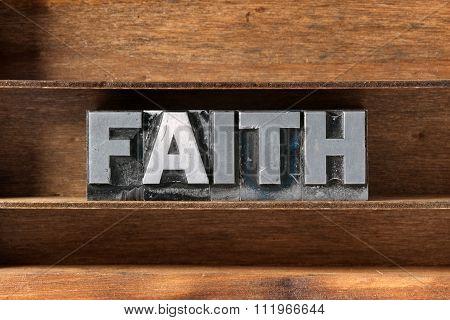 Faith Word Tray