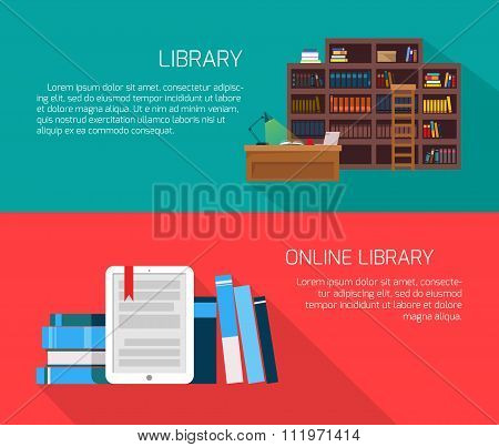 Library And Online Library