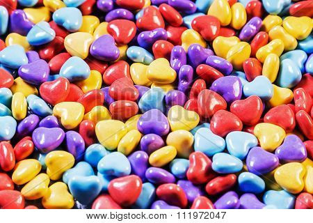 Background Of Colored Gum