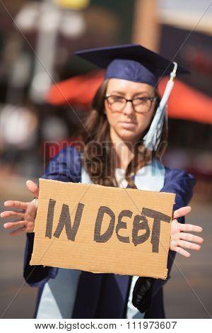 Person In Debt