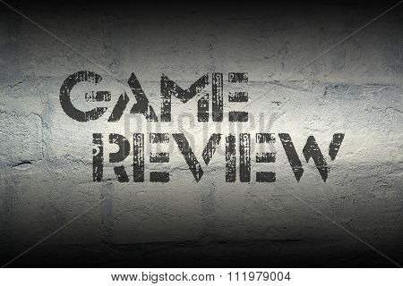Game Review Grad