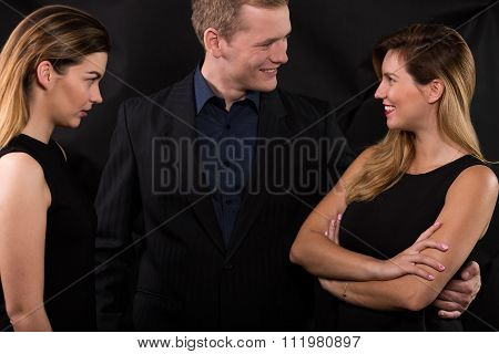 Woman Is Very Jealous