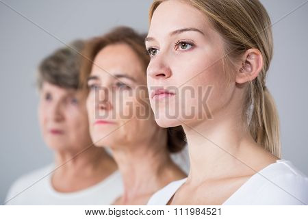 Family Relation Between Three Women