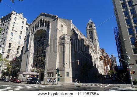 Temple Emanu-El in NYC