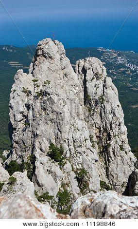 Rocks of Ai-Petri mountain