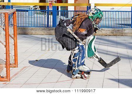 Street Hockey Goalie