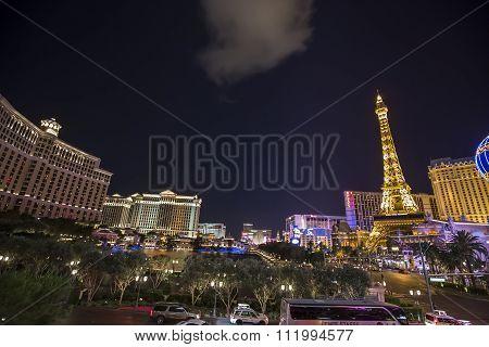 On the Strip, Las Vegas Boulevard, Las Vegas, Nevasa, usa