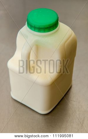 milk carton and milk