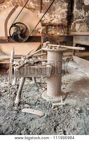 Vintage heavy tools