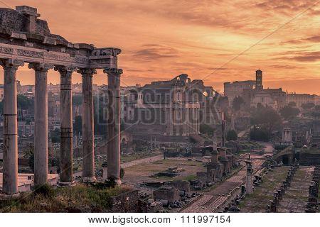 Rome, Italy: The Roman Forum