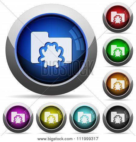 Bug Folder Button Set