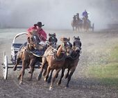 Chuckwagon Racing