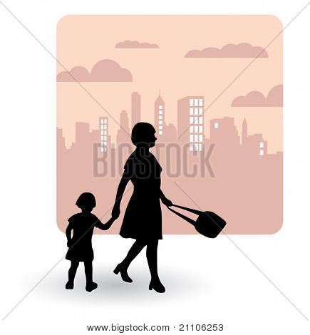 Family - Vector illustration