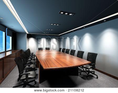 Büro-Tagungsraum