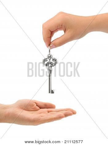 Hands And Key