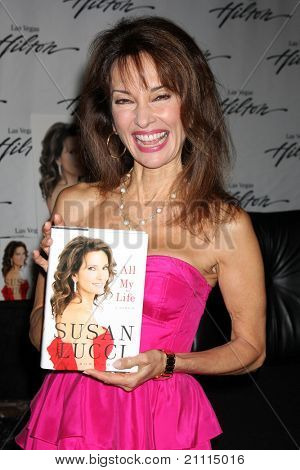 """LAS VEGAS - JUN 18:  Susan Lucci at the booksigning for """"All My Life"""", her autobiography at Hilton Hotel on June 18, 2010 in Las Vegas, NV."""