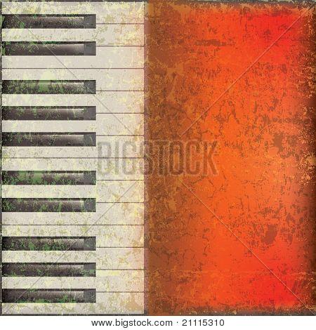 Fondo de música abstracta Grunge