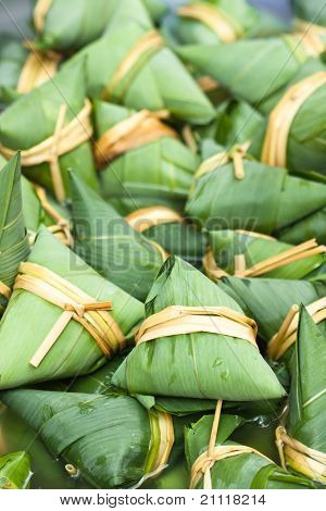 Colorful Chinese Zongzi