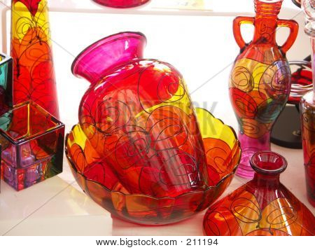 Fine Art Glass Vase