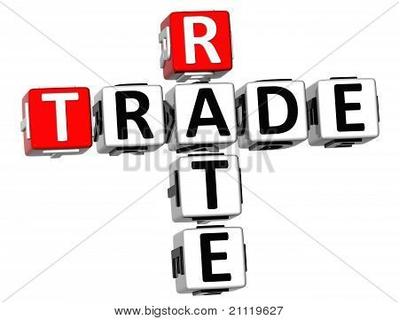 3D Trade Rate Crossword