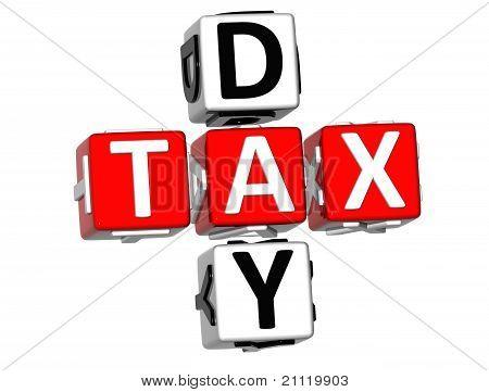 3D Day Tax Crossword