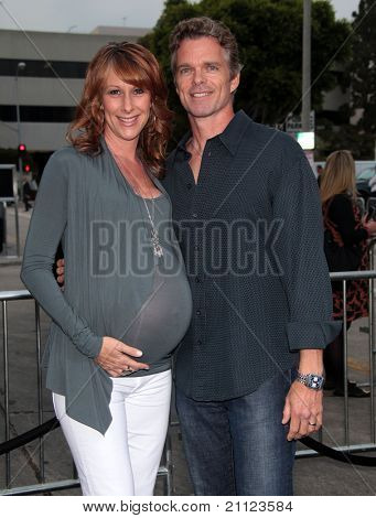 LOS ANGELES - JUN 08:  Josh Coxx & Wendy Braun arrives to the