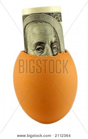 Egg And Dollar