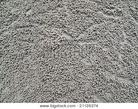 Background Sand Bubbles