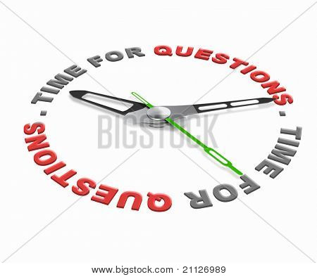 Time for questions, ask online and get answers and solutions to your problems. Pose question and find answer.