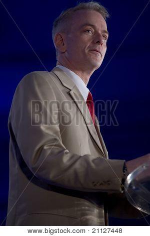 NEW ORLEANS, LA - 18 Juni: Steve Russell, Autor, wir haben ihn!, richtet sich der republikanischen Führung