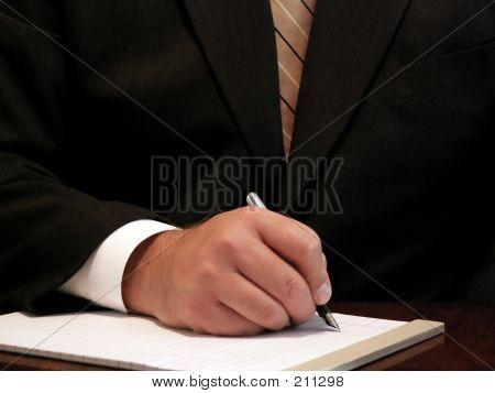 Bereit, schreiben