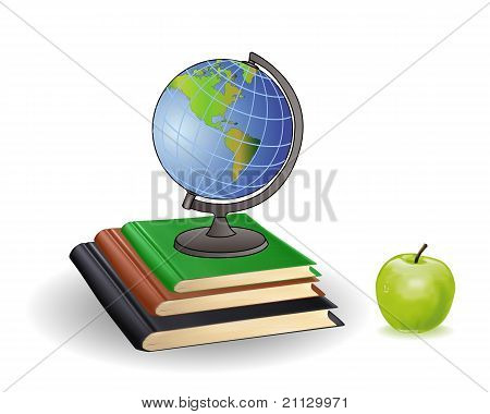 Globe Books And Green Apple