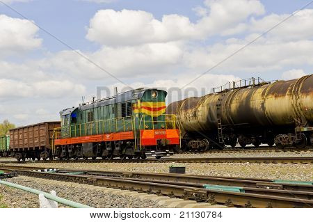 Russian Railway Locomotive