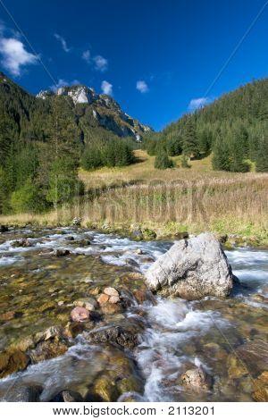 Fall Mountain Stream