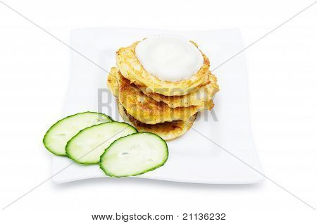 Traditional Delicious Potato Pancakes
