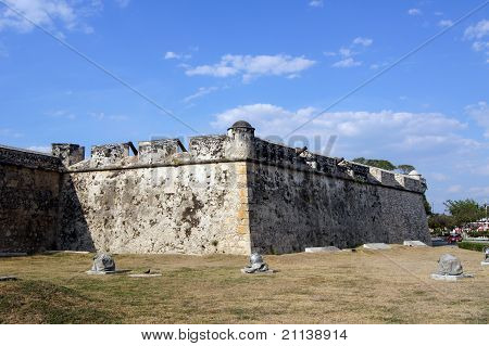 Fort In Mexico