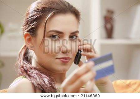 Credit Card Phone Shopping