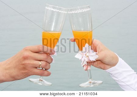 Toast Of A Newly-married Couple