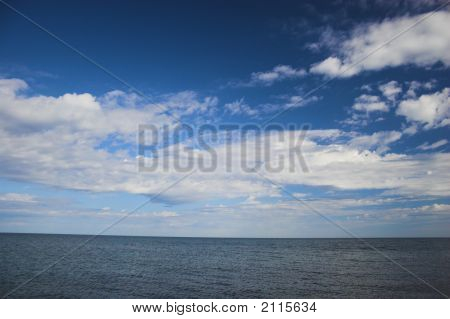 Sky Over Arctic Ocean